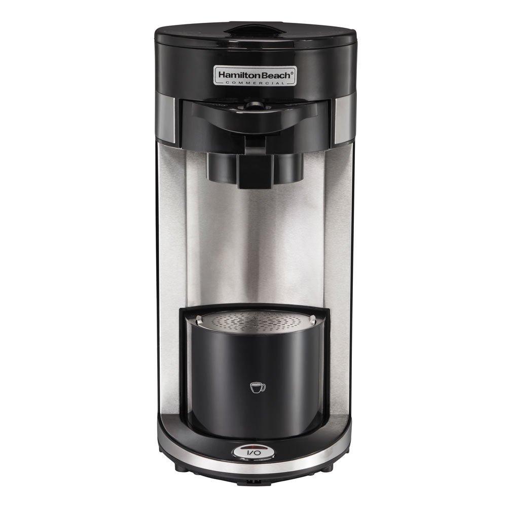 Hamilton Beach HDC300 600 Watt Black Flexbrew Single Serve Coffeemaker