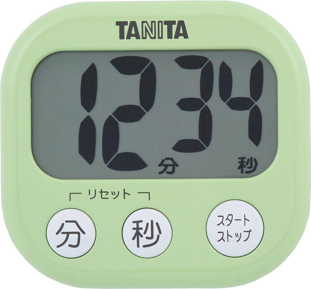 タニタ でか見えタイマー TD-384-GR