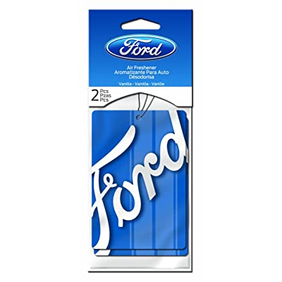 Plasticolor 005548R01 'Ford' Air Freshener, (Pack of 2): Automotive
