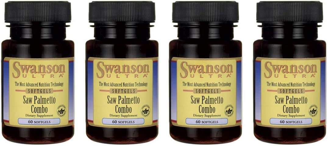 Swanson Saw Palmetto Complex 60 Sgels 4 Pack