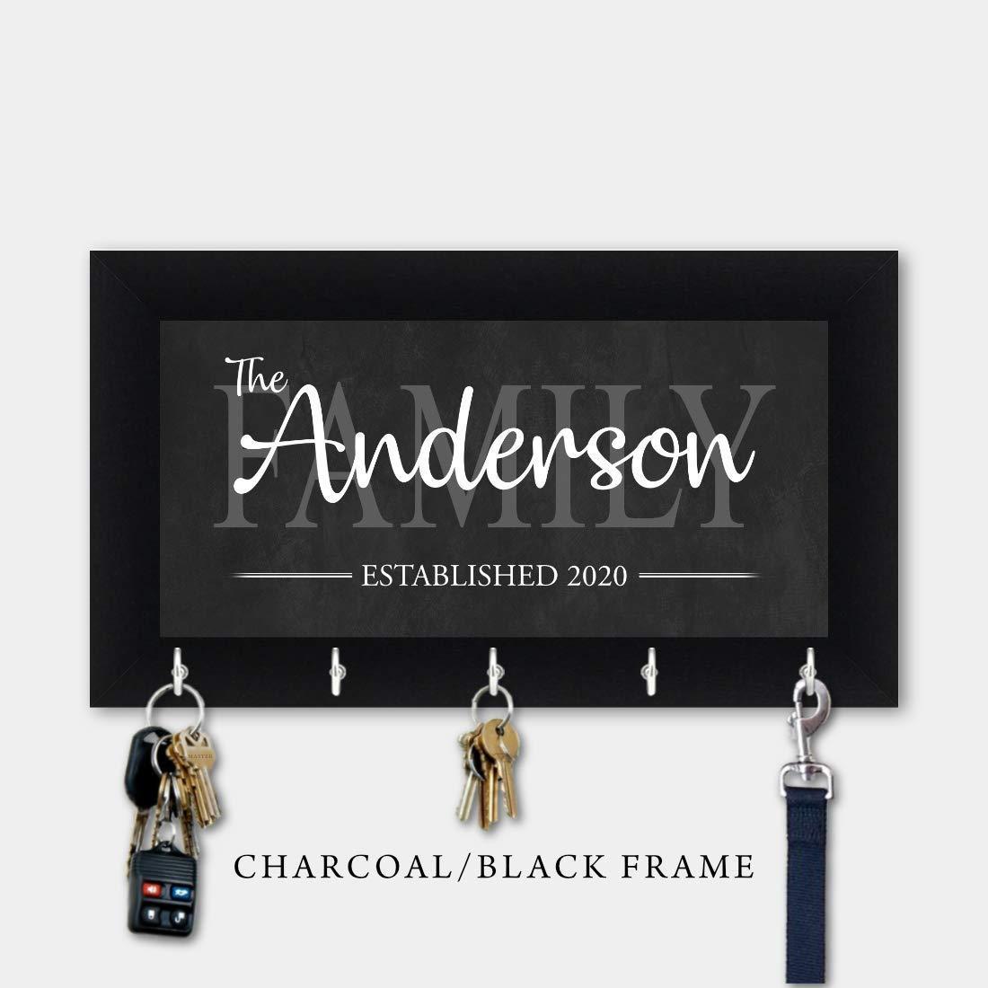 Wedding Gift Housewarming Gift Key Holder Home Wall Key Holder Key Holders Wall Key Rack Personalized Gift Key Hanger