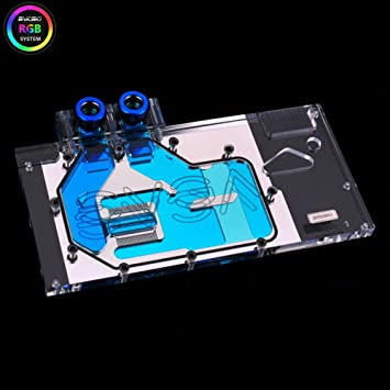 Amazon.com: B BYKSKI RGB - Bloque de refrigeración de agua ...