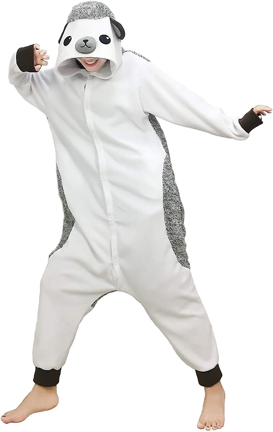 Lifeye Unisex Panda Pajamas Adult Animal Cosplay Costume