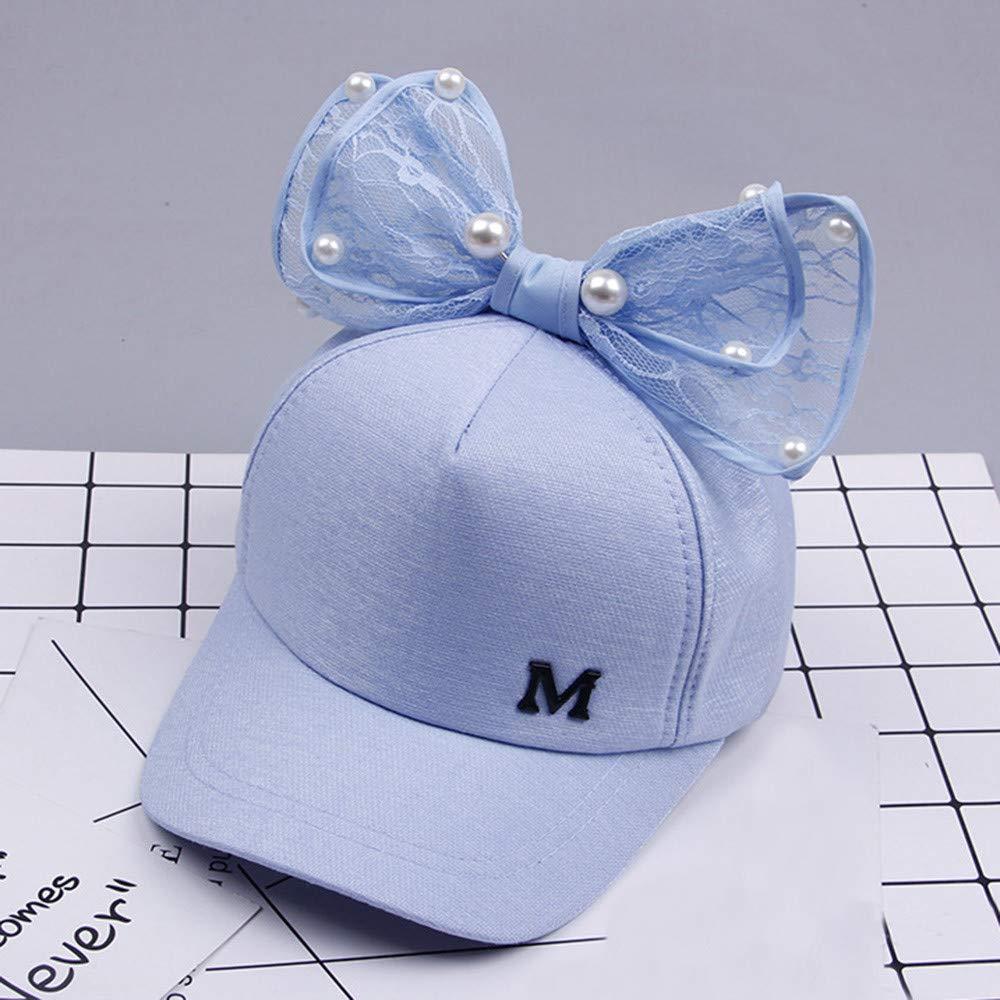 Waymine Toddler Summer Cartoon Rabbit Ears Mesh Sun Hat for Girl/&Boy Baby Baseball Cap