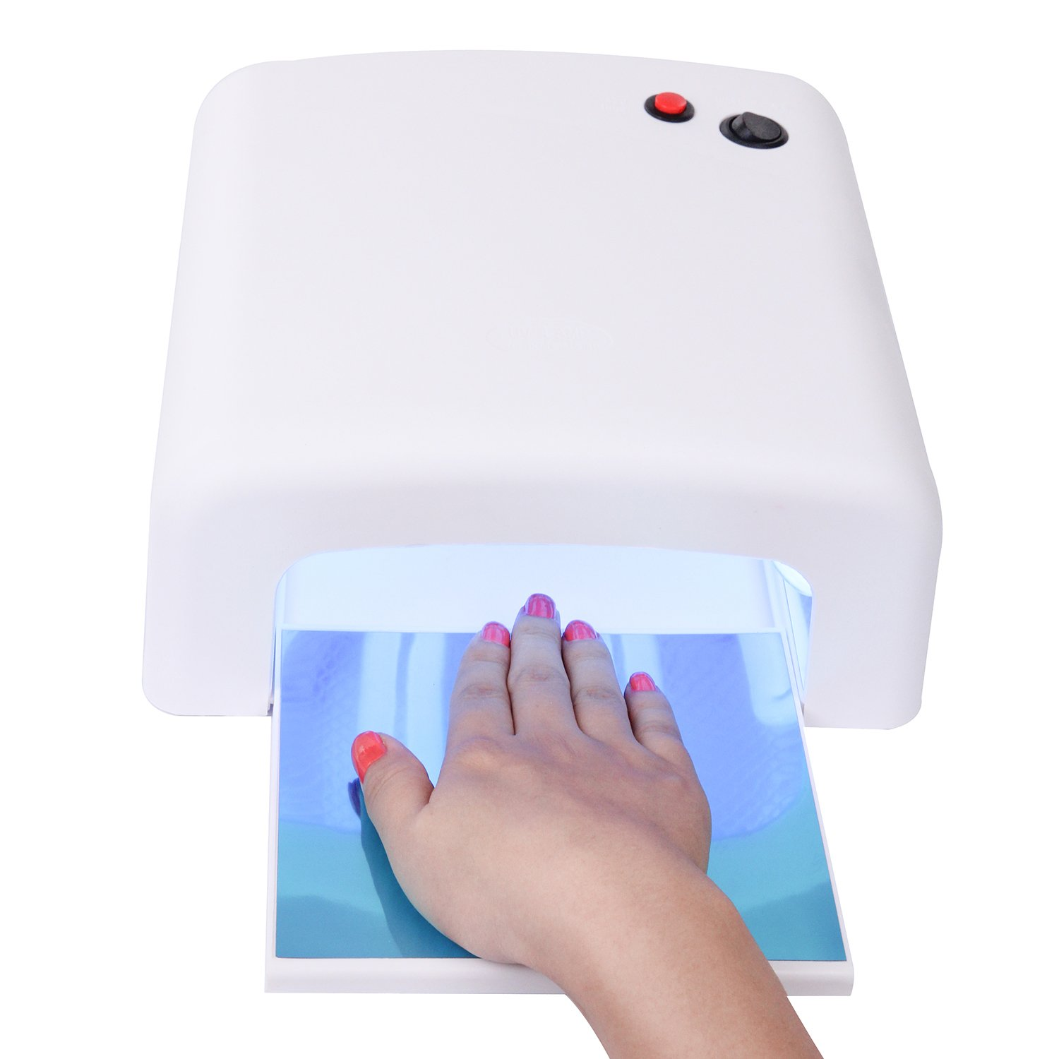 MAKARTT 36W UV Curing Lamp for UV Nail Gel Manicure/Pedicure Nail ...