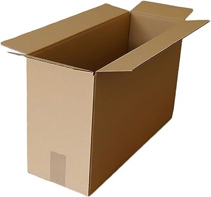 Cajas de cartón para mudanza, 17 x 8 x 13 cm, embalaje corrugado ...