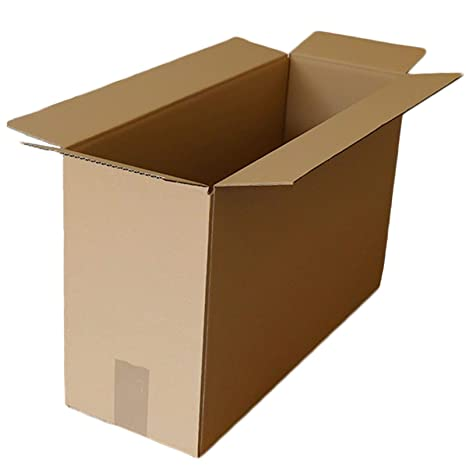 Cajas de cartón para mudanza, 17 x 8 x 13 cm, embalaje corrugado