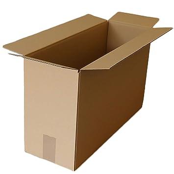 Cajas de cartón para mudanza, 17 x 8 x 13 cm, embalaje corrugado: Amazon.es: Oficina y papelería
