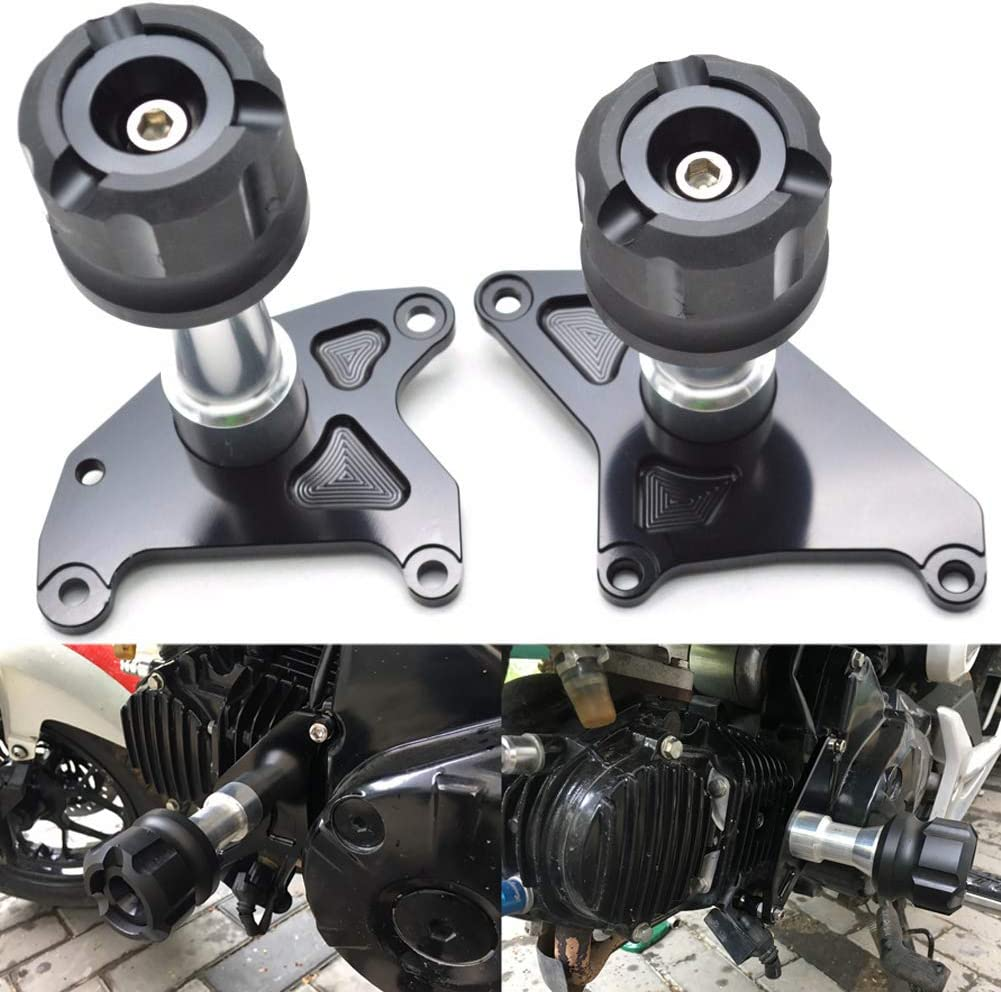 Ruizhi Replacement for Honda Grom MSX125 MSX125SF MSX 125 125SF 2013-2019 Engine Crash Pads Frame Sliders Protector Gold