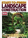 Start-to-Finish Landscape Construction, Ortho, 089721496X