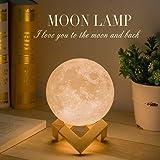 Moon Lamp, Balkwan 4.7 inches 3D Printing Moon