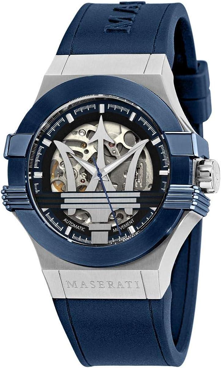 Reloj para Hombre, Colección Potenza, en Caucho, Acero - R8821108028