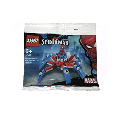 LEGO 30451 Spider-Man's Mini Spider Crawler 73 pcs: Toys & Games