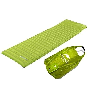 FHGJ Colchón de aire ultraligero para exterior con colchón ...
