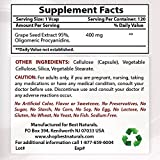 Best Naturals Grape Seed Extract 400 mg Veggie