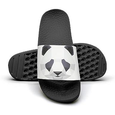 ppllmma geometry panda women s shower athletic slides sandal