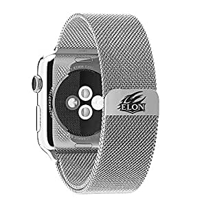 Elon Phoenix Stainless Steel Band Fits Apple Watch