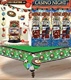 Casino/Game Night Party Decoration Set