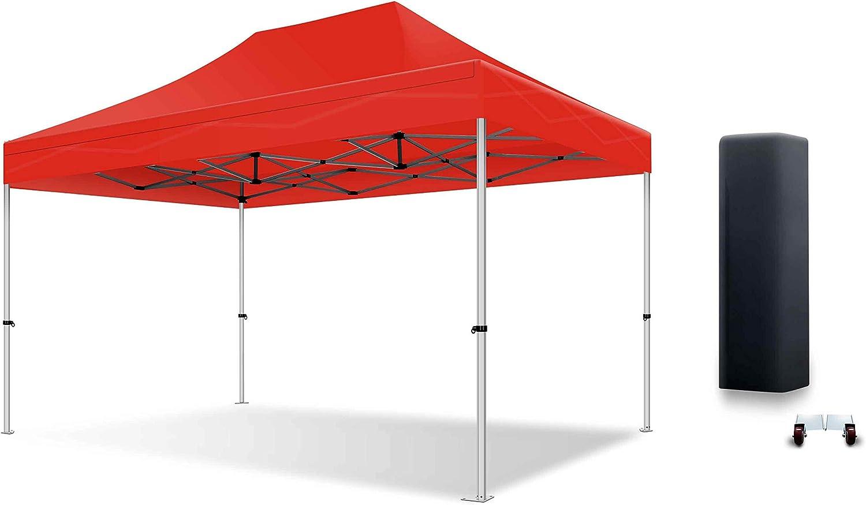 actiexpress tienda plegable carpa (cenador profesional 3 x 4.5 estructura de aluminio 40 mm techo 300 G/m² calidad Professionelle: Amazon.es: Hogar