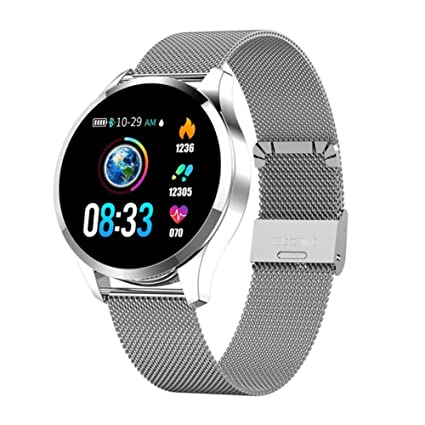 Amazon.com: Fitness Tracker Touch Screen Waterproof ...