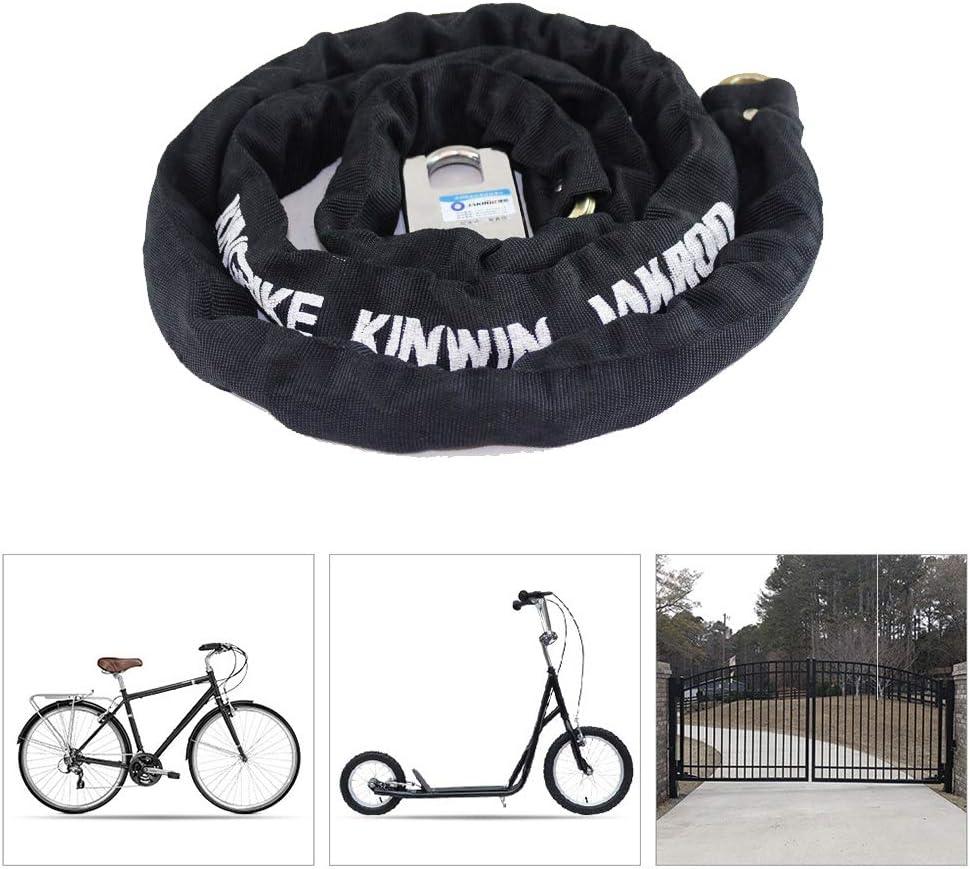 LieYuSport Cadena Bicicleta Candado,Impermeable Candado Bicicleta Alta Seguridad Antirrobo Bicicleta para Candado Moto Eléctricos de Bicicleta Triciclo Scooter: Amazon.es: Deportes y aire libre