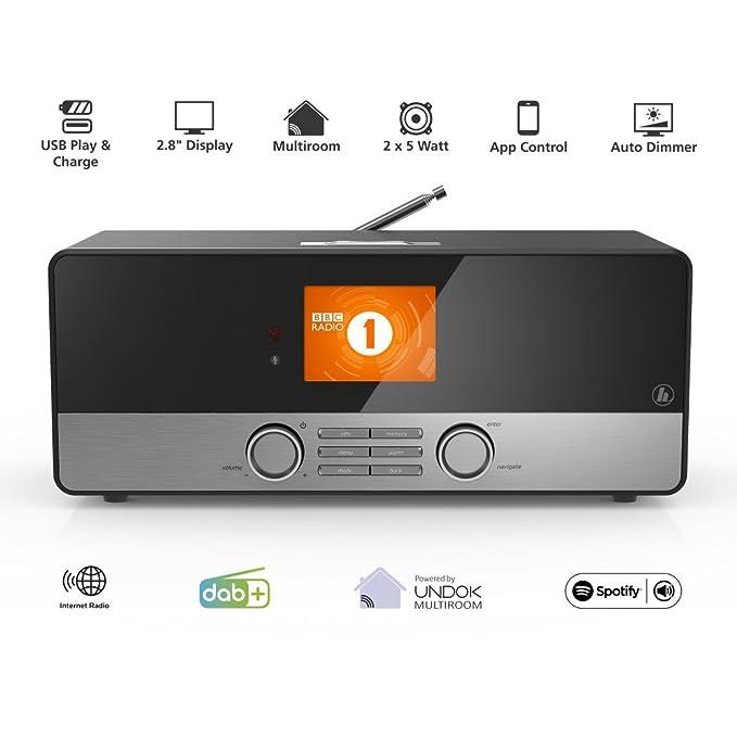 HAMA DIR3100 Radio Digital internet, Spotify Connect, UNDOK Multiroom