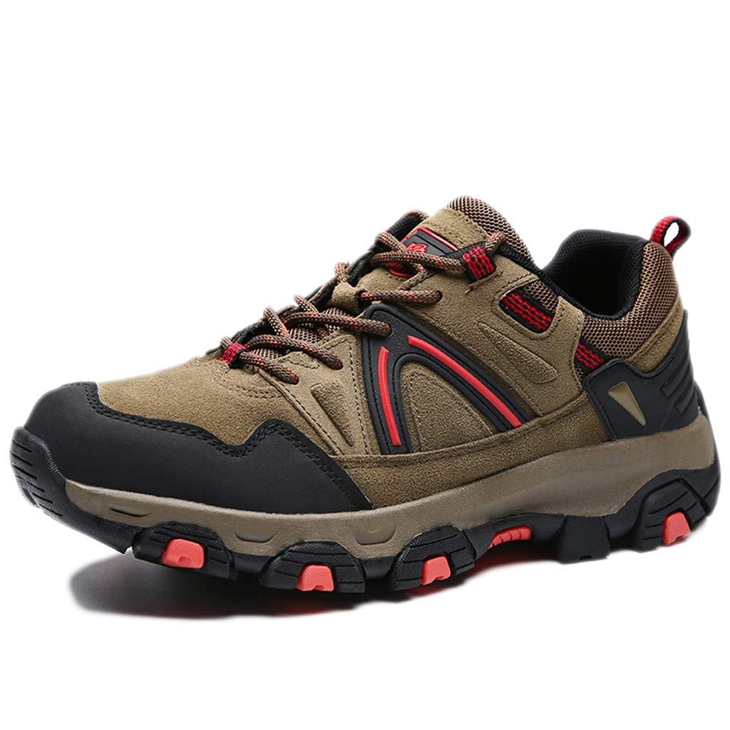 marron 39 EU nihiug Chaussures de randonnée pour Hommes Chaussures de randonnée imperméables Trekking en Plein air Bas pour Les Loisirs en Plein air