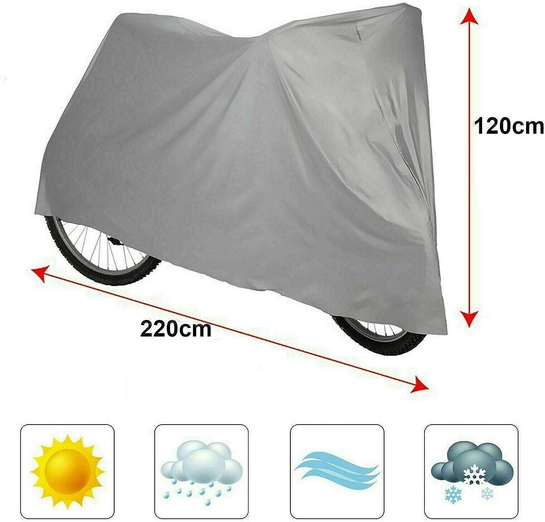 PaulStore Waterproof Universal BICYCLE Bike COVER UV Weather Dust Rust Resistant Cycle