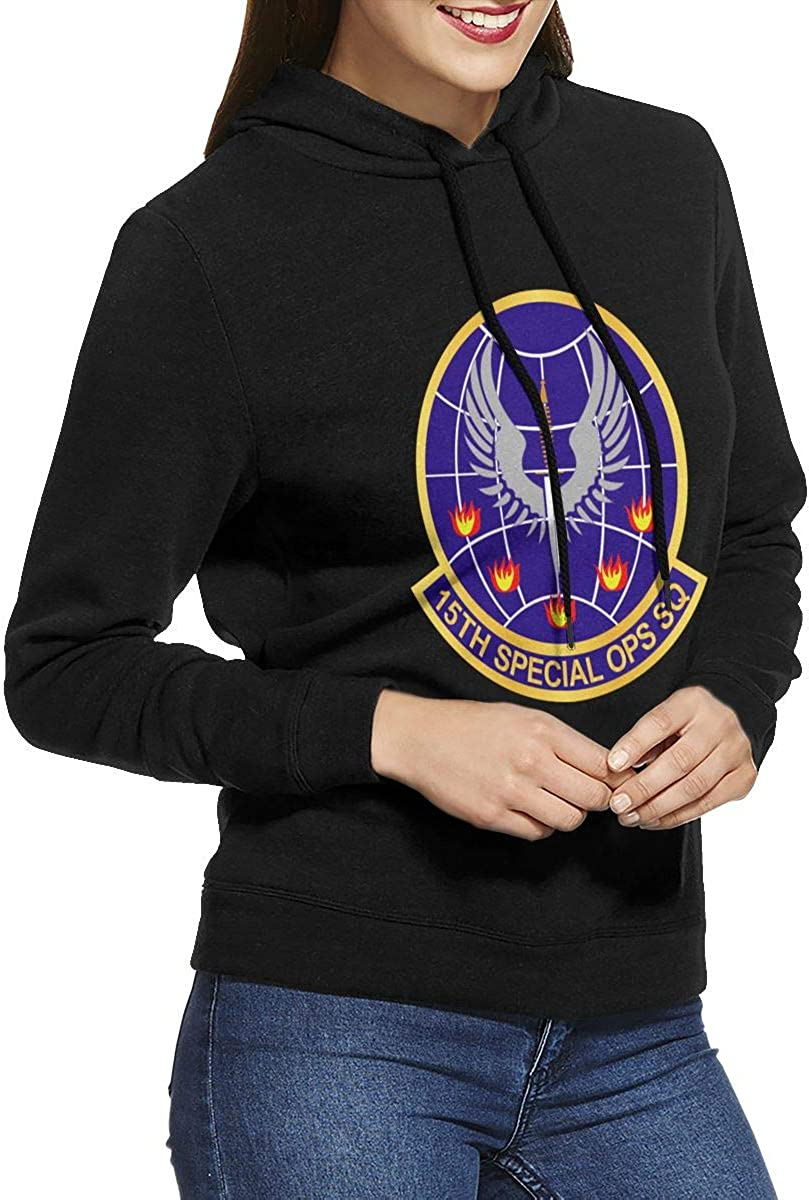Usafsof 15th Special Operations Squadron Wo Txt Womens Pullover Hoodie Long Sleeve Hooded Sweatshirts