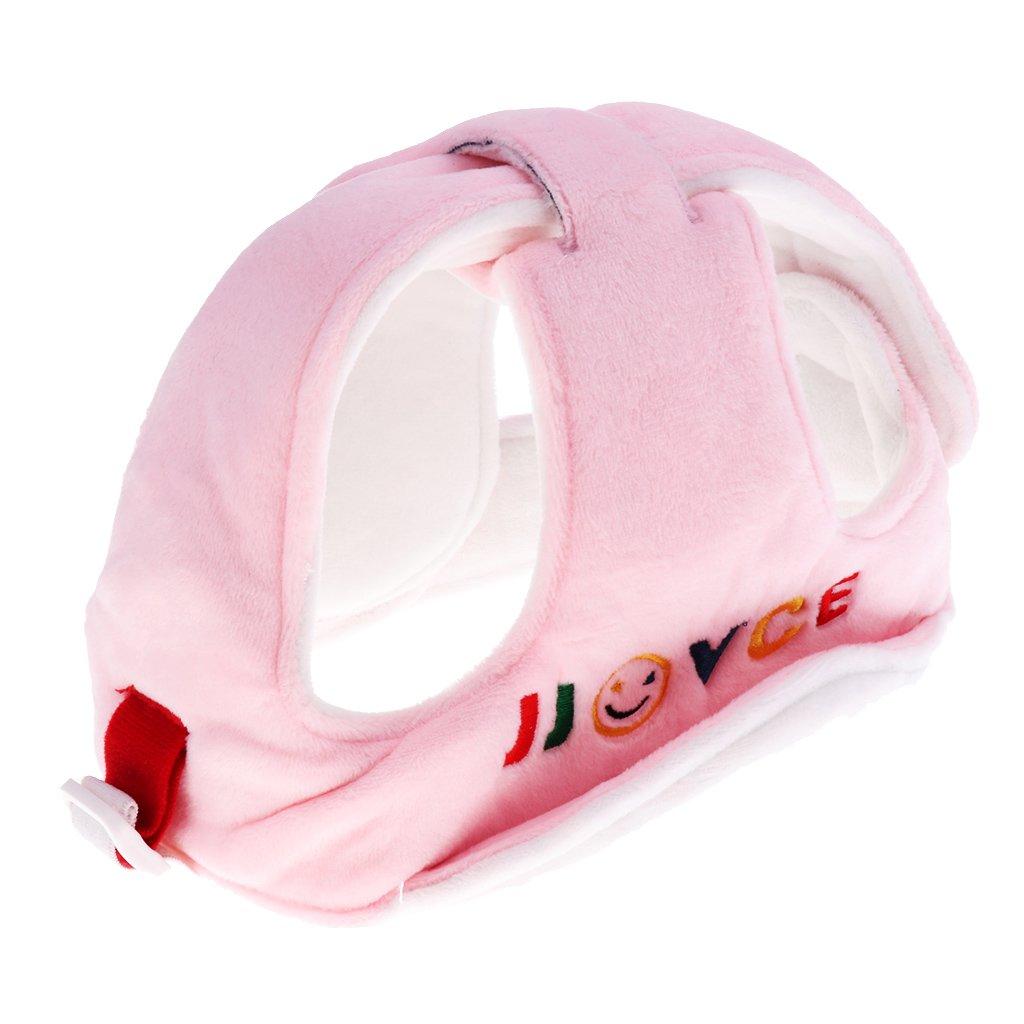 Prettyia Baby Helmet Schutzhelm Babyhelm Einstellbare Sicherheit Kopfschutz Kopfschutzmü tze Kappe - Grau