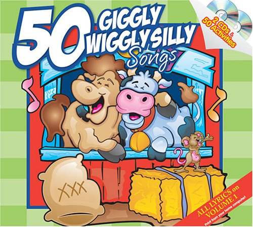 50 Giggly Wiggly Silly Songs 2 CD (Wiggly Collection)