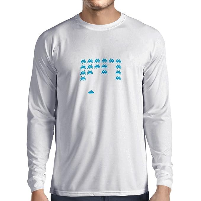 lepni.me T-Shirt Manica Lunga da Uomo Vintage pc Maniacs Regali Gamer  Divertenti Camicie Gamer Divertenti  Amazon.it  Abbigliamento 18b96b51953