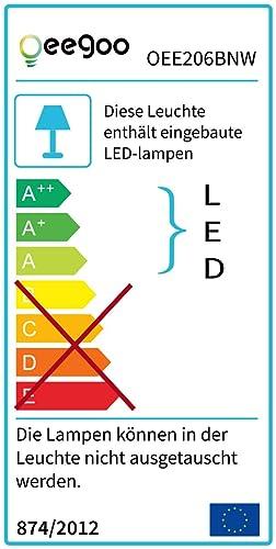 64w LED Deckenleuchte Warmweiß Deckenlampen Wohnzimmerlampe Badleuchte IP44