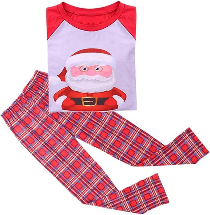 Family Christmas Pyjamas Matching Pyjama Sets Santa Claus Printed Homewear  Sleepwear for Dad da86d8712