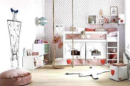 Amazon.com : Leyiyi 7x5ft Children\'s Room Interior Backdrop Girls ...