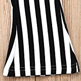 ZAXARRA Toddler Kids Baby Girl Stripes