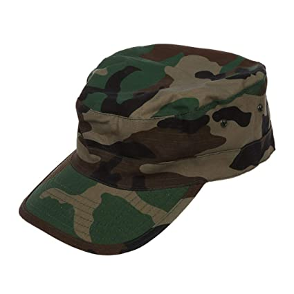 SODIAL(R) Ejercito Militar Urbano Visera Cap Mens Senora Sombrero Camo  camuflaje selva beisbol 2669ebf06c2