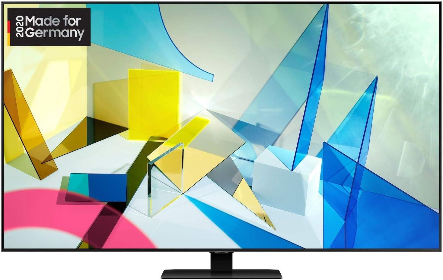 Samsung Qled 4k Q80t 189 Cm 75 Zoll Quantum Prozessor 4k Direct Full Array Quantum Hdr 1500 Modelljahr 2020 Heimkino Tv Video
