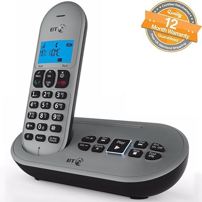 BT BT3580 QUAD - Teléfono inalámbrico con contestador automático (función manos libres): Amazon.es: Electrónica