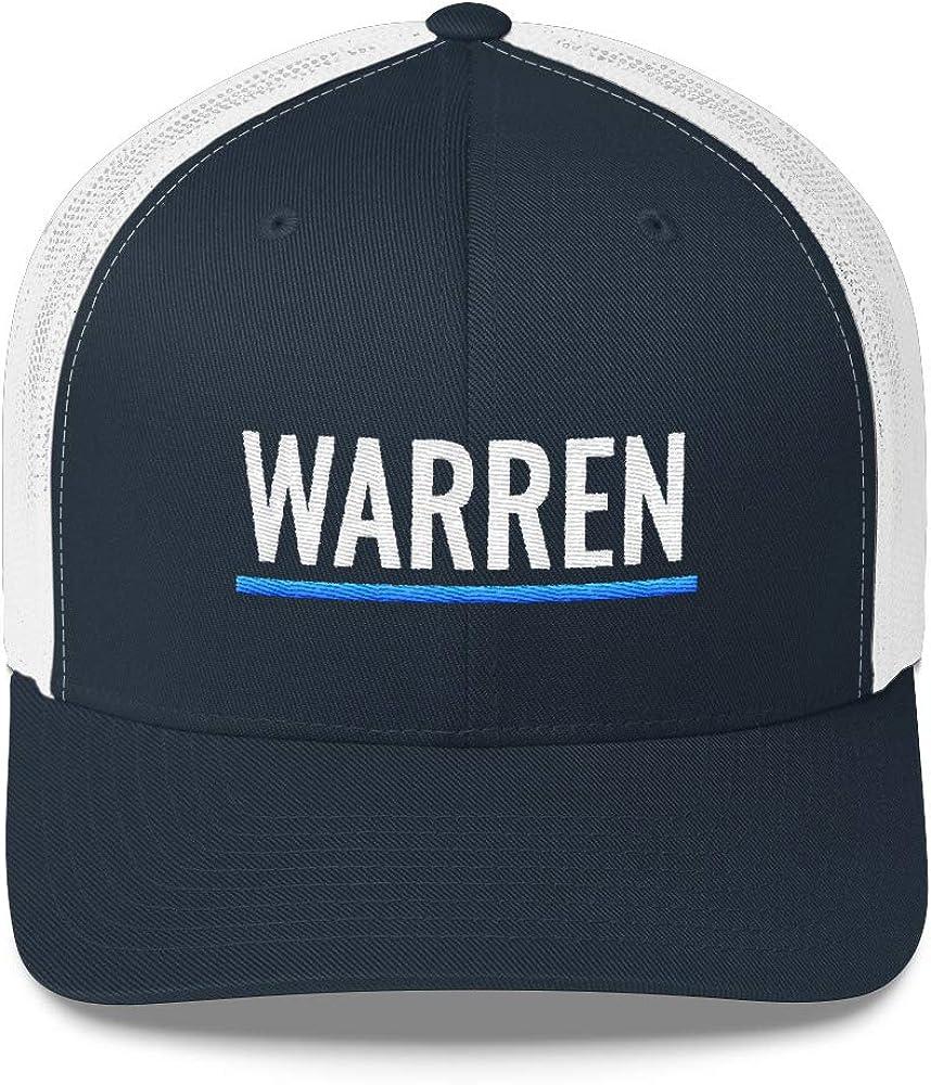 Election 2020 Snapback Hat for Democrats Elizabeth Warren for President Trucker Cap