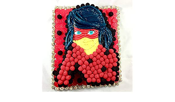 Tarta Ladybug chuches regalos cumpleaños: Amazon.es: Handmade
