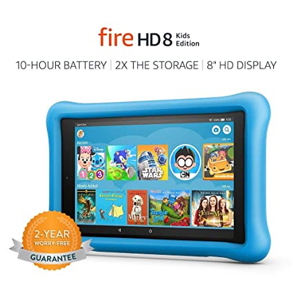 Amazon.com: Fire HD 8 Kids Edition. Up to 10 hours of ...