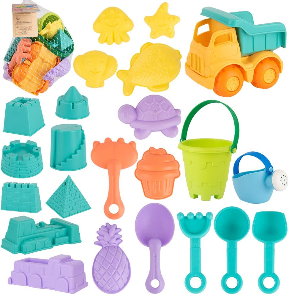 Beach Sand Tools Toys Bucket Set For Toddler Kids Children Outdoor Toy OQF