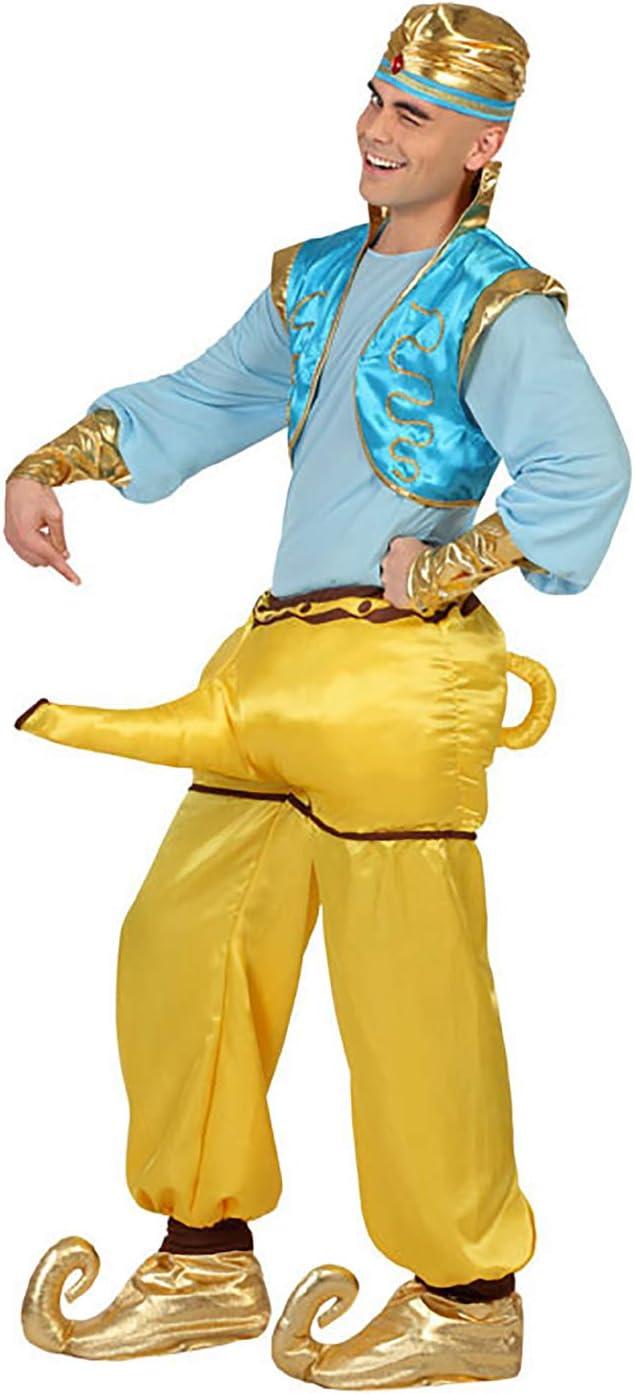 Atosa-23006 Disfraz Genio, color dorado, M-L (23006): Amazon.es ...