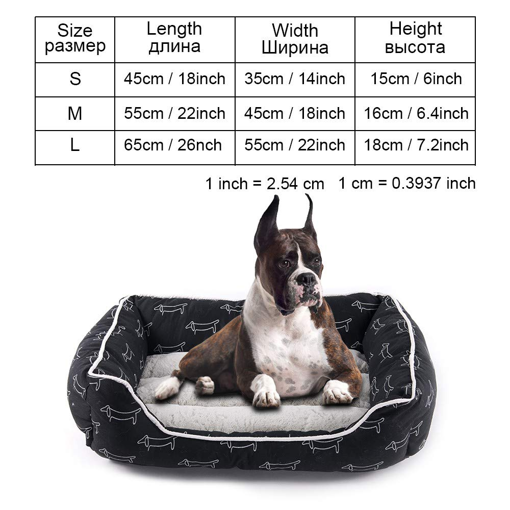 Py0106 S as pictures py0106 S as pictures Cookisn Dog Bed Bench Dog Beds Mats for Small Medium Large Dogs Puppy Bed Cat Pet Kennel Lounger Dog Bed Sofa House for Cat Pet Products py0106 S