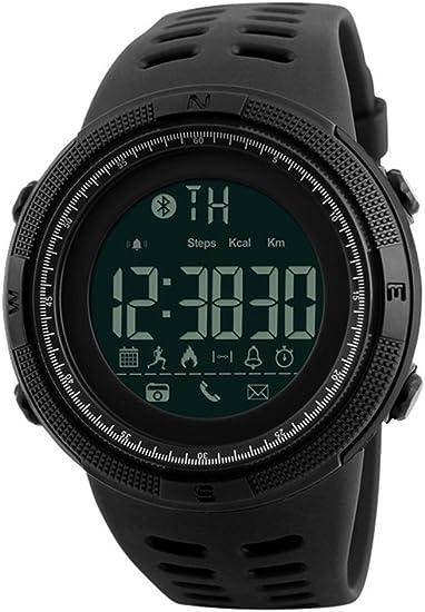 Men Outdoor Sport Smart Watch Fashion Digital Watches Fitness Tracker Bluetooth iOS 4.0 Android Waterproof Wristwatch