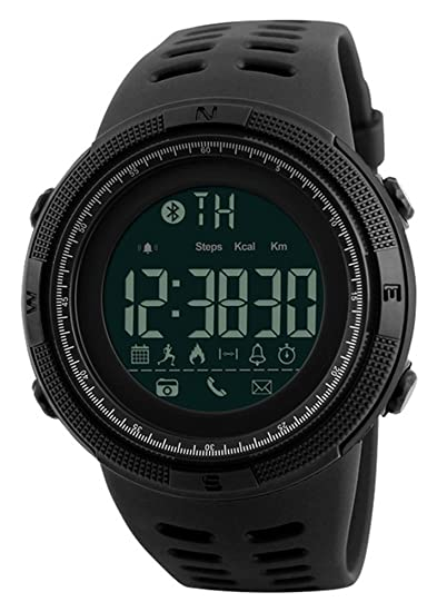 Mastop Men Outdoor Sport Smart Watch Fashion Digital Watches Fitness Tracker Bluetooth ios 4.0 Android Waterproof