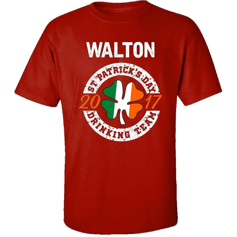 Walton St Patricks Day 2017 Drinking Team Irish - Adult Shirt