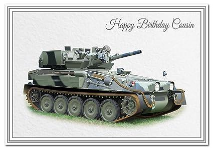 Impresionante tarjeta de cumpleaños militar - inusual único ...