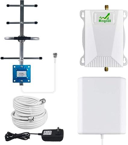 Amazon.com: Kit de repetidor amplificador de señal móvil de ...